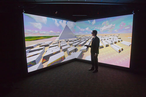 centro de realidad virtual de 3ds en Boston