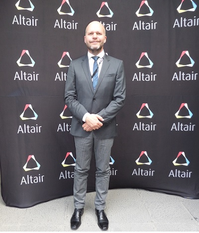 Ottmar Kappes country manager de Altair Mexico