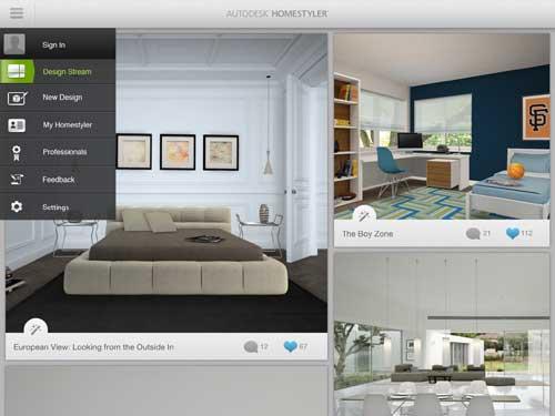 Transforma los espacios de tu casa desde tu ipad notas for Disenar casa online con autodesk homestyler