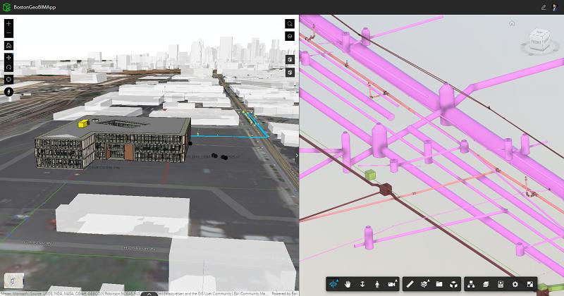 Autodesk BIM Collaborate Pro y ESRI ArcGIS GeoBIM