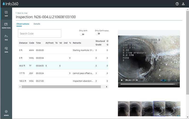 La plataforma Info360 Asset basada en la nube de Innovyze una empresa de Autodesk