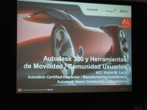 Autodesk University Extension Mexico 2012