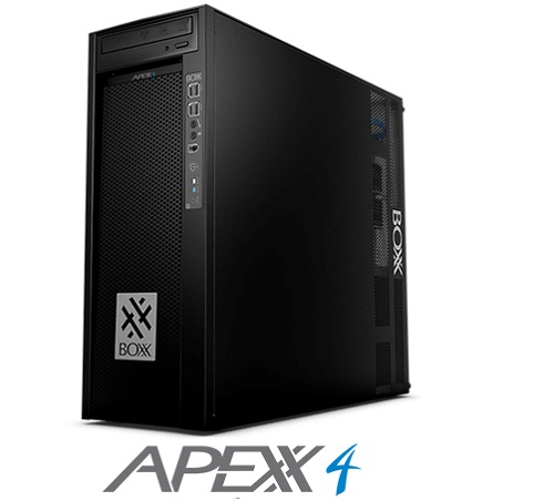 Boxx Workstation modelo Apexx 4