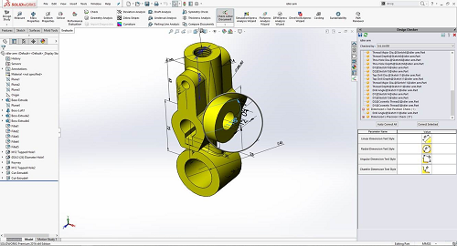 Design Checker SolidWorks