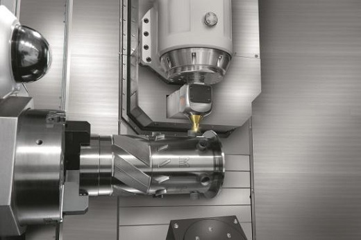 The Mazak i-400AM hybrid machine title=