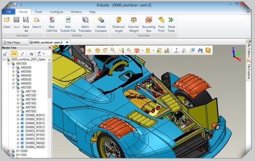 ea1ff21af12d Ensuite es una solucion de visualizacion de diseños 3D CAD para facilitar  la comunicación entre los diferentes departamentos externos e internos de  la ...