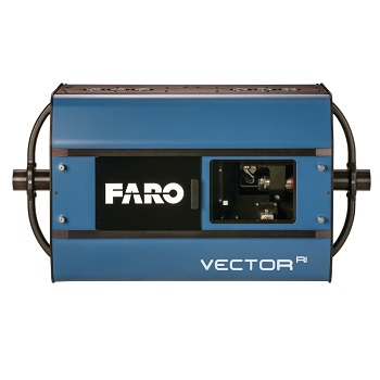 FARO VectorRI Imaging Laser Radar presenta una nueva clase de LIDAR con High Speed Imaging (HSI) technology