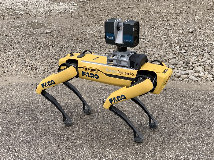 FARO Trek robot movil de escaneo 3D