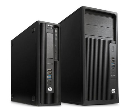 HP Z240 Workstation nivel de entrada