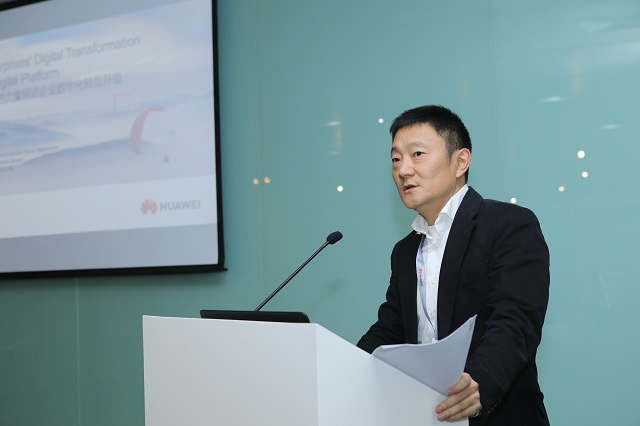Lu Qi, Presidente de Marketing & Solution Sales Dept of Enterprise Business Group en Huawei