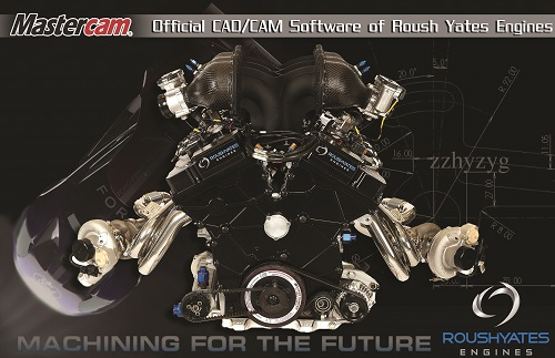 Mastercam en Roush Yates Engines