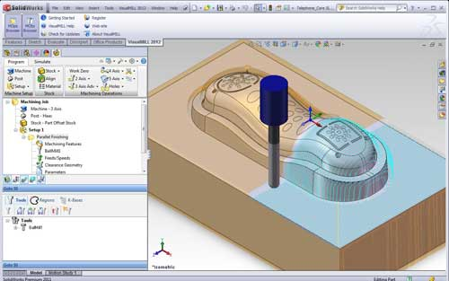 VisualMill para SolidWorks 2012
