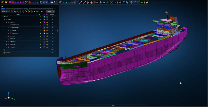 Integración de MSC Apex y Smart 3D de la division PPM de Hexagon