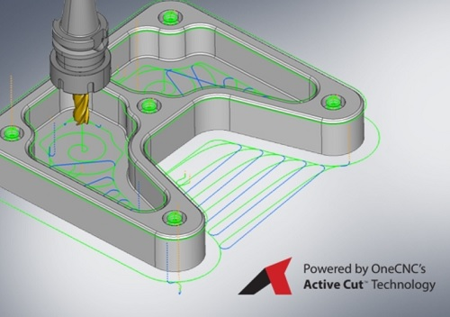 OneCNC software CAD/CAM