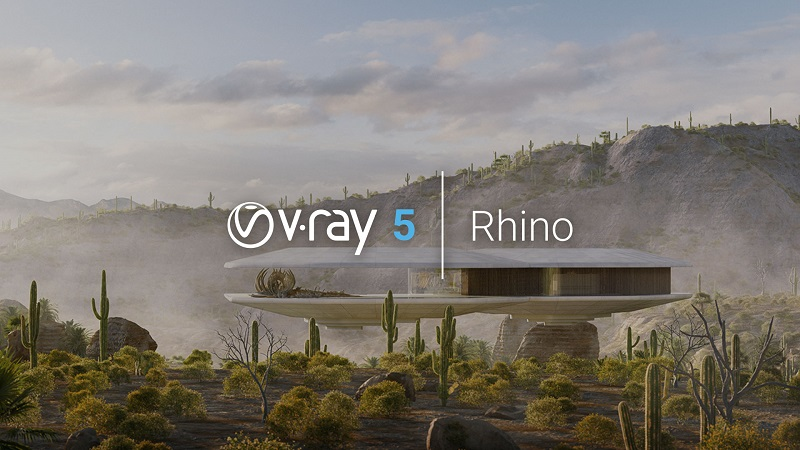 Chaos Group anuncia V-Ray 5 para Rhino