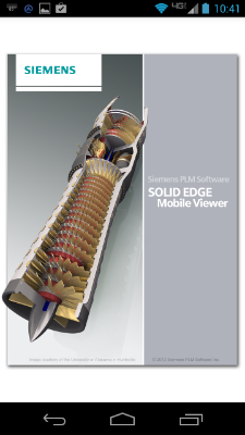 SolidEdge viewer en Android