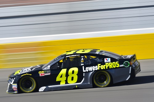 No. 48 Hendrick Motorsports Chevy manejado por Jimmie Johnson