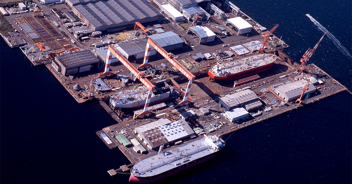 Sumitomo Heavy Industries Marine & Engineering usa Femap para diseno y simulacion de barcos