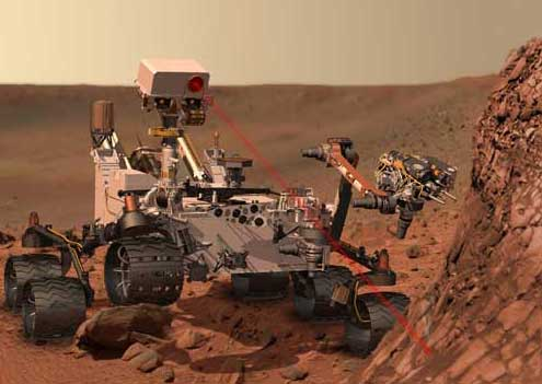 Curiosity Rover NASA