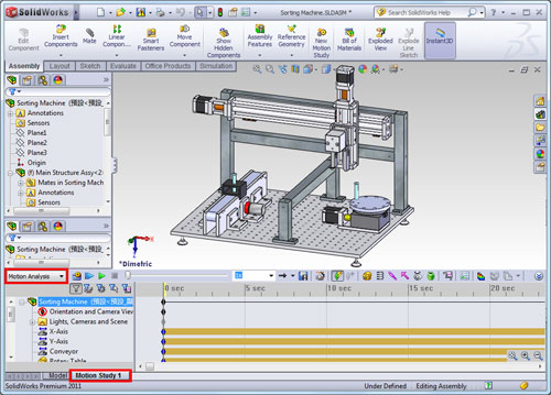 Un vistazo a la integraci n del m dulo ni labview for Design table not working solidworks