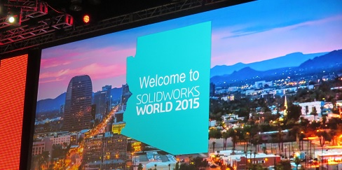 SolidWorks World 2015 en Phoenix