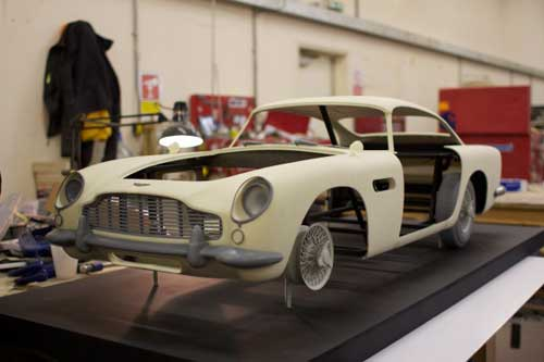 VoxelJet y el Aston Martin de James Bond